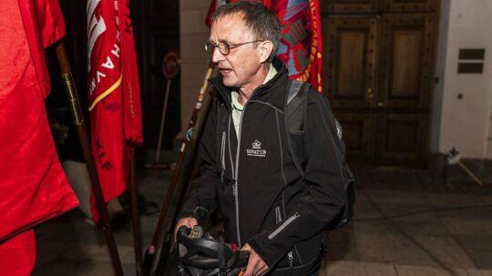 Anders Bondo forlader Forligsinstitutionen i København sent søndag aften.