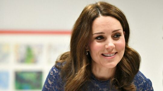 Hertuginde Catherine er indlagt for at føde sit tredje barn.
