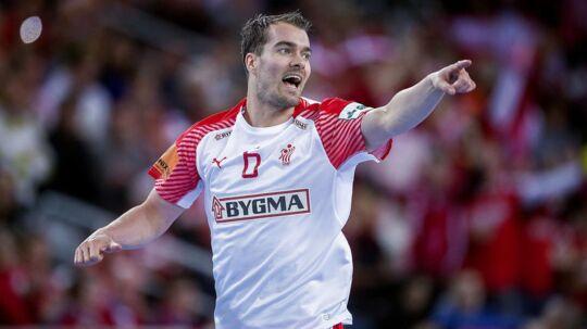 Casper U. Mortensen er fast mand på det danske landshold.