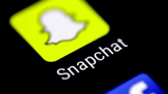 Fra 25. maj vil Snapchat ikke længere indsamle GPS-data om sine yngste brugere i Europa. Arkivfoto: Thomas White, Reuters/Scanpix