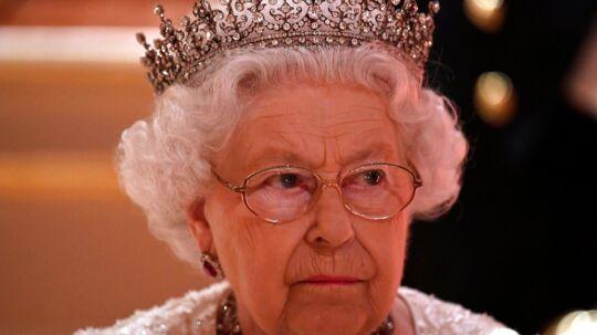 Dronning Elizabeth II. Billedet her er fra 19. april, Buckingham Palace i London.