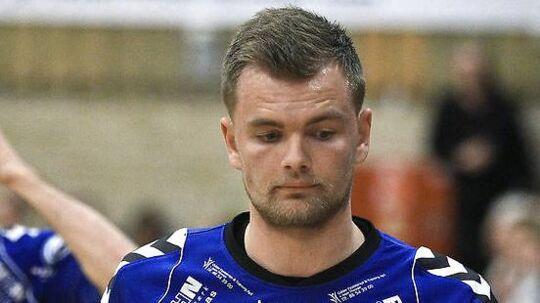 Kristian Klitgaard, der nu spiller i TM Tønder, er en af de spillere, der rykker ned med klubben.