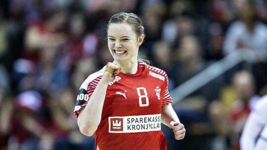 Anne Mette Hansen i aktion for Danmark