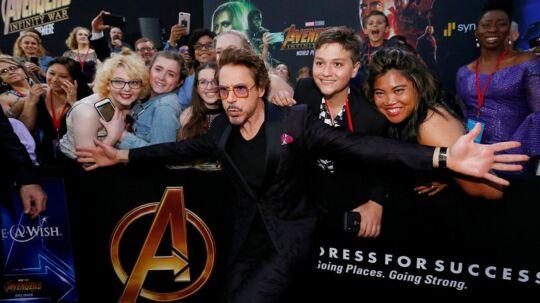 Robert Downey Jr. kickstartede Marvels gigantiske succes i rollen som Iron Man for 10 år siden.