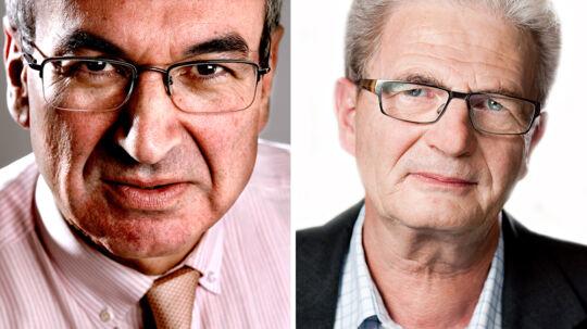 Samuel Rachlin og Holger K Nielsen