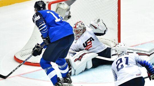 Finland vinder dansk VM-gruppe med sejr over USA. Syv kvartfinalister er fundet, Danmark kan blive den sidste.