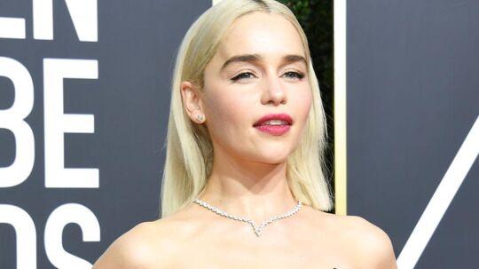 Emilia Clarke vender tilbage i rollen som Daenerys i sidste sæson af Game of Thrones i 2019.