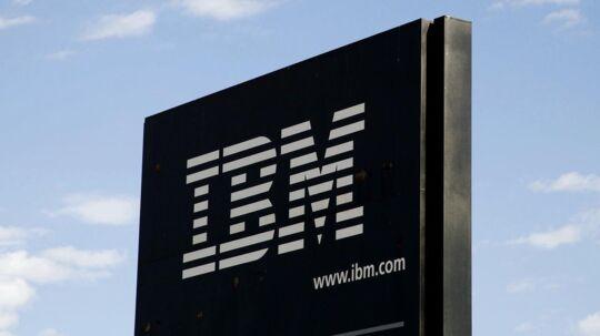 Det står skidt til hos it-selskabet IBM Danmark, der i 2017 endte med et underskud på 884 millioner kroner.