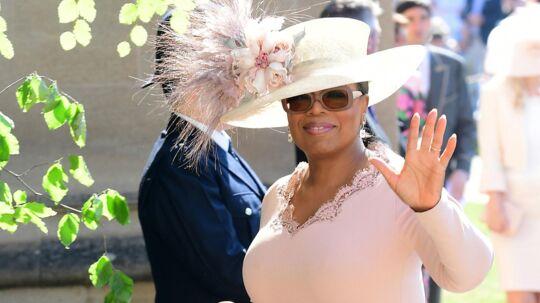 Oprah deltager i prins Harry og Meghan Markles bryllup lørdag.