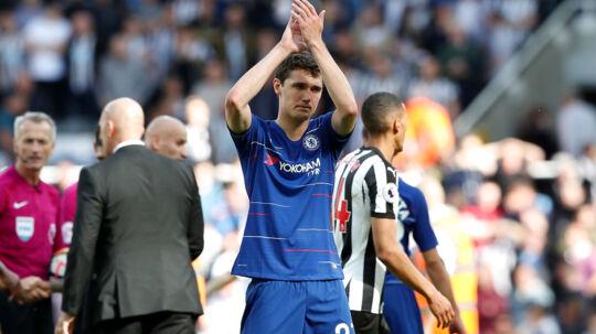 Andreas Christensen har spillet sæsonens sidste kamp for Chelsea.