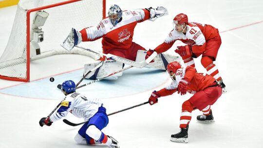Stjernen fra Toronto, Frederik Andersen, stod i bogstaveligste forstand i spidsen for det danske landshold. Havde Danmark kvalificeret sig til kvartfinalen, ville det have været prikken over i'et.