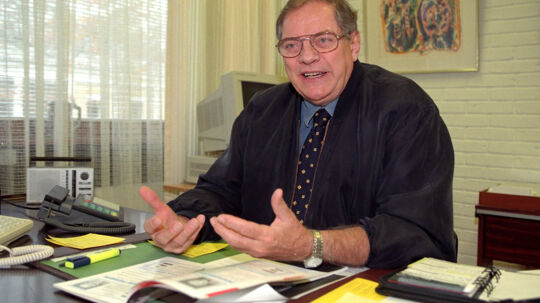 Kjeld Rasmussen døde lørdag 91 år gammel. Scanpix/Bent K Rasmussen