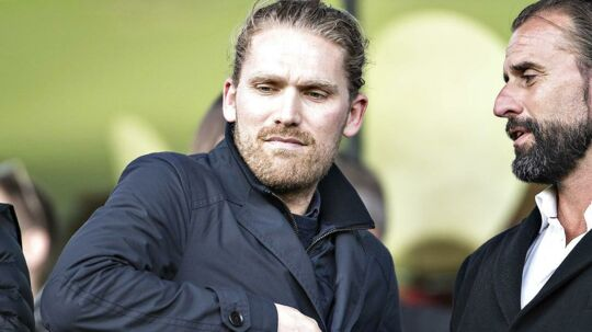 Rasmus Ankersen og FC Midtjylland har sat plan B i værk.