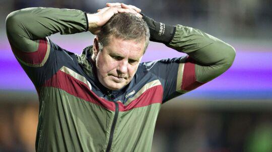 Kent Nielsen blev mandag morgen fyret som cheftræner for Odense Boldklub.