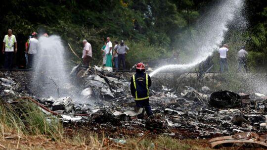 110 personer omkom i ulykken, der er Cubas værste luftfartskatastrofe i næsten 30 år.