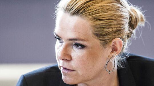 Udlændinge- og integrationsminister Inger Støjberg