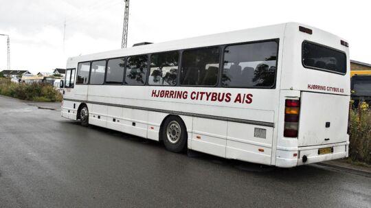 Busselskabet Hjørring Citybus er gået konkurs. (Foto: Henning Bagger/Scanpix 2017)