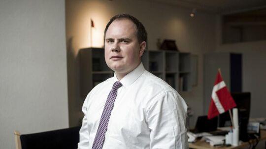Portræt af Martin Henriksen, folketingsmedlem for Dansk Folkeparti.