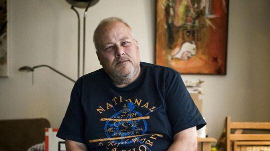 Portræt af Kim Madsen, som er formanden for foreningen Jobcentrets Ofre.