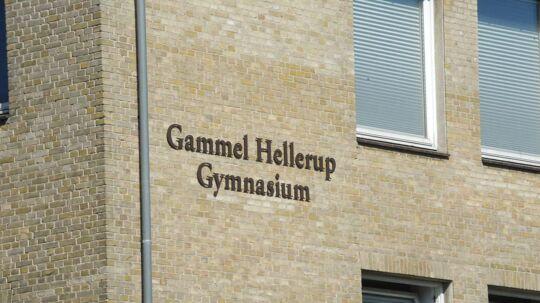 Det var elever fra Gammel Hellerup Gymnasium, der angiveligt ikke kunne opføre sig ordenligt
