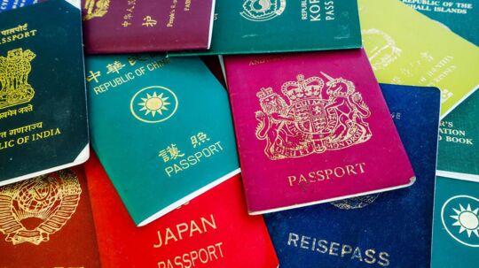 Der er stor forskel på, hvor du kan rejse hen i verden, alt efter hvor dit pas er udstedt.