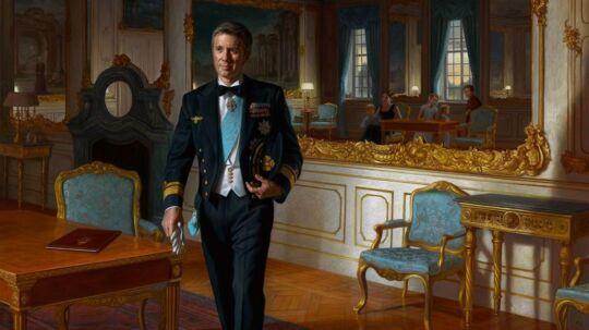Det er ikke alle, der er lige begejstrede for australske Ralph Heimans fortolkning af kronprins Frederik.