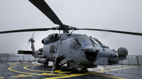 Arkivfoto: En af forsvarets helikoptere.
