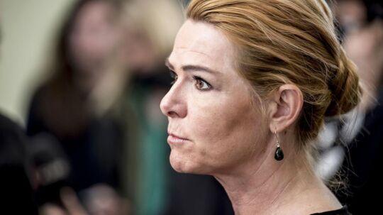 Udlændinge- og integrationsminister Inger Støjberg.