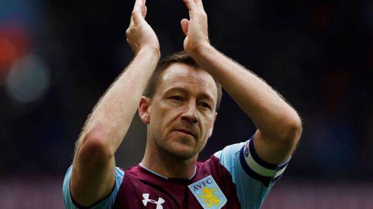 John Terry fik anførerbindet med det samme, da han skiftede til Aston Villa sidste år.