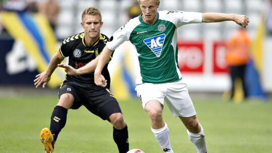 Thomas Dalgaard er en af de angribere, Morten Olsen skal se nærmere på i denne weekend, når han muligvis får debut for Heerenveen.