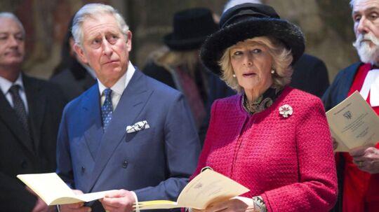Prins Charles og Camilla besøger Danmark for første gang sammen i marts.