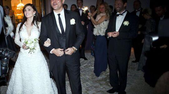 Rene Dif blev lørdag gift med sin kæreste Rikkemaija.