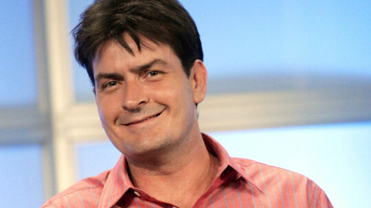 "U.S. actor Charlie Sheen smiles at the panel for CBS television show ""Two and A Half Men"" at the Television Critic's Association Summer press tour at the Beverly Hilton Hotel in Beverly Hills in this July 20, 2005 file photo. A judge on June 15, 2011 sent Charlie Sheen's lawsuit against Warner Bros to arbitration, in a ruling that denies the actor a public court hearing over his firing from hit sitcom ""Two and a Half Men."" REUTERS/Mario Anzuoni/Files (UNITED STATES - Tags: ENTERTAINMENT)"