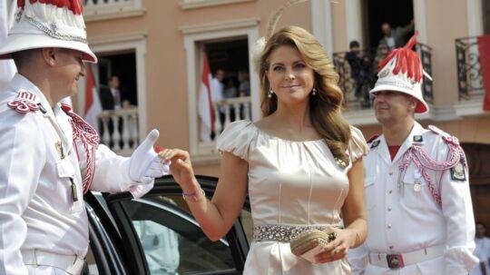 Prinsesse Madeleine er ked af den kritik af hendes liv i New York, hun gennem den senere tid er blevet udsat for. Her ses hun ved Prins Albert II af Monacos bryllup i juli sidste år.