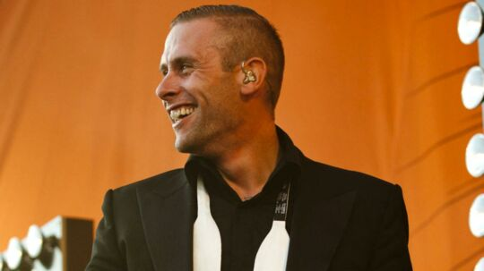 Orange Scene, Roskilde Festival 2011. Koncert med den danske rapper LOC L.O.C. (Liam O'Connor) på Orange Scene søndag aften.