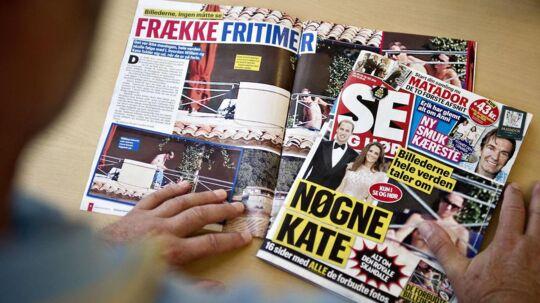 (ARKIV) Ugebladet Se og Hør beskyldes i en ny bog for ulovligt at have overvåget kendte og kongelige - ifølge BT.