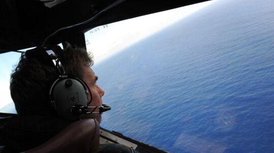 Uafhængige eksperter hævder nu, at de ved, hvor vraget af det forsvundne malaysiske fly MH370 ligger. Stedet skulle angiveligt være flere hundrede kilometer væk fra det område, hvor fly og både hidtil har ledt efter flyet. Billedet er taget fra et New Zealandsk fly i april.