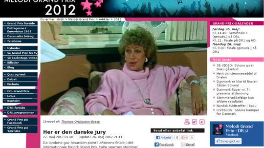 DR afslører hvem der er i den danske fagjury.