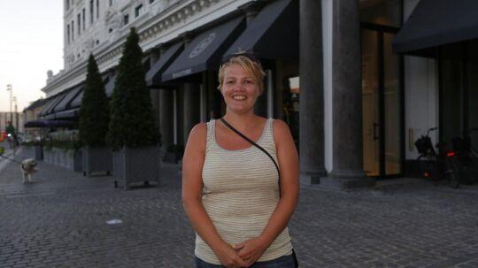 Birgitte Jørgensen fra Ballerup har siden 2003 joket med, at popstjernen Robbie Williams er far til hendes to børn.
