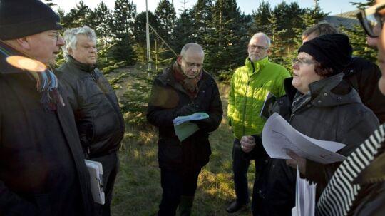 Christian Kjær er ved at få eksproprieret 7000kvardratmeter på Venø. Det er Efterskolen som skal bygge en ny hal.