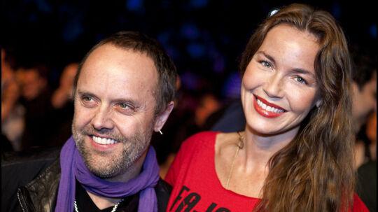 Hollywoodstjernen Connie Nielsen og kæresten Lars Ulrich er nære venner med den udskældte balletmester Nikolaj Hübbe.