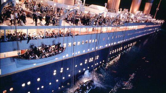 Finansmanden og eventyreren Per Wimmer har før været på dybt vand - dog oftest i form af aktiviteter mellem himmel og jord. Men nu gør han for alvor klar til en dukkert i dybet. Her ses en scene fra filmen 'Titanic'.