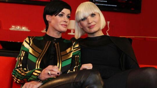 Hverken Sharin Foo eller Lene Nystrøm fældede tårer under lørdagens Voice.