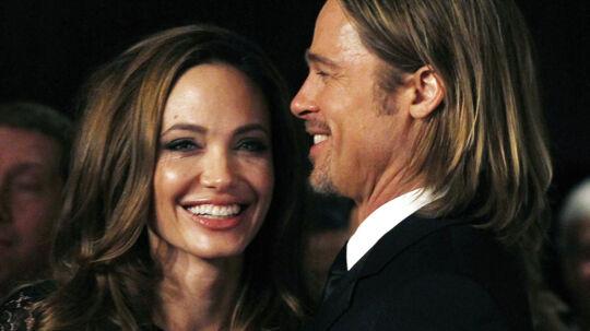 Angelina Jolie og Brad Pitt har glædet mange med deres sympati i sagen om homovielser. Men med deres forlovelse, smider de det hele på gulvet.