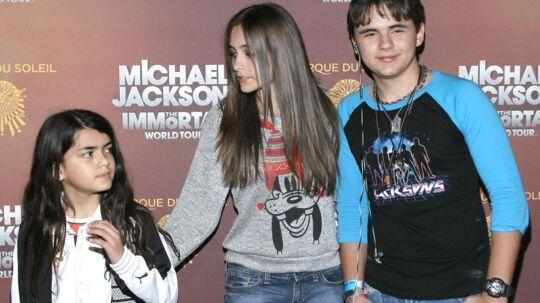 Sådan ser Michael Jacksons børn ud i dag. Sunde, glade og stolte af deres far.