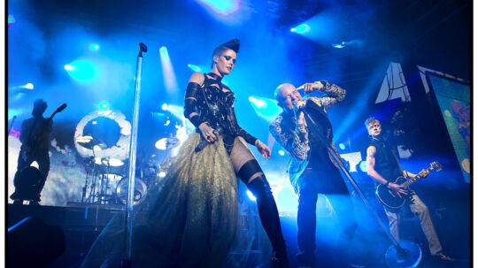 Aqua er klar med et nyt album efter næsten 11 års pladepause. Her ses det populære popband til Fredagsrock i Tivoli, hvor de optrådte fredag d. 17. juni i år.