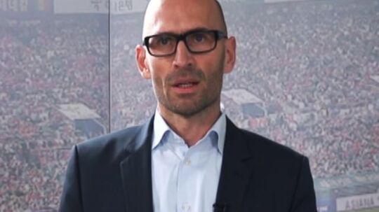 DBUs administrerende direktør, Claus Bretton-Meyer, har nogle forventninger til Danmarks næste landstræner.