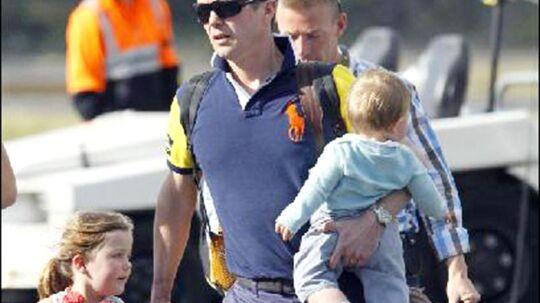 Kronprins Frederik og Mary forlader Tasmanien efter 10 dages ferie (arkivfoto).