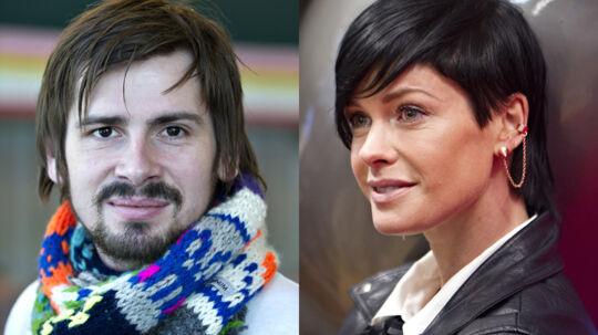 Lene Nystrøm er ret begejstret for X Factor-Sveinur, afslører hun på facebook.