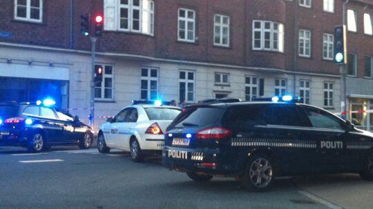 Politiet mødte talstærkt op i Esbjerg efter et stort slagsmål